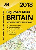 2018 Big Road Atlas Britain
