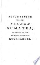 Beschrijving van het eiland Sumatra
