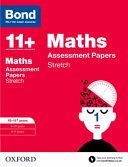 Bond 11   Maths  Stretch