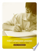 First Language Lessons For The Well Trained Mind Level 3 Student Workbook