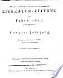 Neue oberdeutsche allgemeine Literaturzeitung