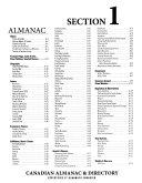 Canadian Almanac   Directory