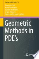Geometric Methods in PDE's