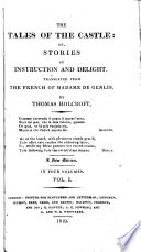 Tales Of The Castle Or Stories Of Instruction And Delight Tr By T Holcroft