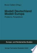 Modell Deutschland — Modell Europa