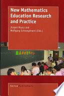 New Mathematics Education Research And Practice book