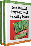 download ebook handbook of research on socio-technical design and social networking systems pdf epub