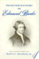 Selected Letters of Edmund Burke