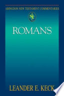 Abingdon New Testament Commentaries: Romans Each Letter Produced By Paul