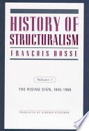 History of Structuralism  The rising sign  1945 1966