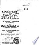 Reglement vor die königl. preussische Infanterie