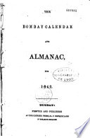 The Bombay Calendar and Almanac  for 1842