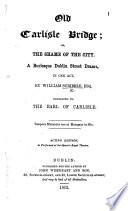 Old Carlisle Bridge     Acting edition