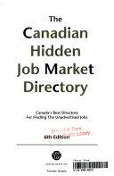 The Canadian hidden job market directory