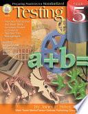 Preparing Students for Standardized Testing  Grade 5