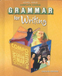 Grammar for Writing Level Gold Complete Course
