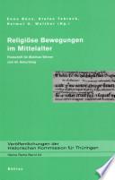 Religiöse Bewegungen im Mittelalter