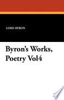 Byron s Works  Poetry