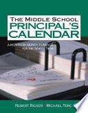 The Middle School Principal S Calendar
