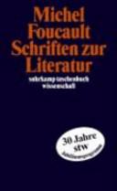 Schriften zur Literatur