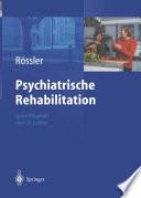 Psychiatrische Rehabilitation