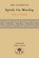 Epistle On Worship : today because of his supposed...
