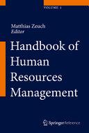 Handbook of Human Resources Management