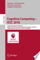 Cognitive Computing – ICCC 2018