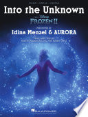 Into the Unknown  from Frozen 2    Piano Vocal Guitar Sheet Music Book PDF