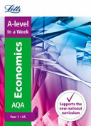 A -Level Economics, Year 1 / AS