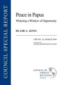 Peace in Papua