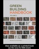 Green Building Handbook  Volume 2