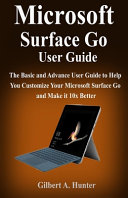 Microsoft Surface Go User Guide