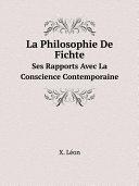 download ebook la philosophie de fichte pdf epub