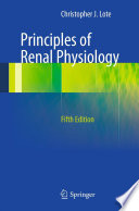 Principles Of Renal Physiology book