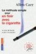 Book La méthode simple pour en finir avec la cigarette