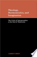 Ebook Theology, Hermeneutics, and Imagination Epub Garrett Green Apps Read Mobile