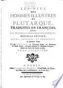 Crassus, Sertorius, Eumènes, Agésilas, Pompée, Agis & Cleomène, Tiberius & Caius Gracchus