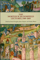 The Morton W  Bloomfield Lectures  1989 2005