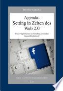 Agenda-Setting in Zeiten des Web 2.0