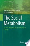 The Social Metabolism