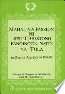 Mahal na passion ni Jesu Christong Panginoon natin na tola