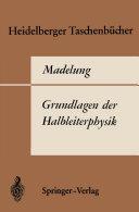 Grundlagen der Halbleiterphysik