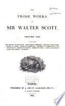 The Prose Works of Sir Walter Scott