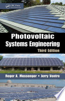 Photovoltaic Systems Engineering  Third Edition