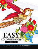 Easy Coloring Books for Seniors