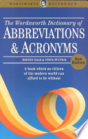 The Wordsworth Dictionary of Abbreviations and Acronyms