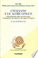 L italiano e le altre lingue
