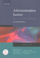 Administrative Justice in South Africa