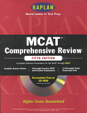 Kaplan MCAT Comprehensive Review with CD ROM  Fifth Edition